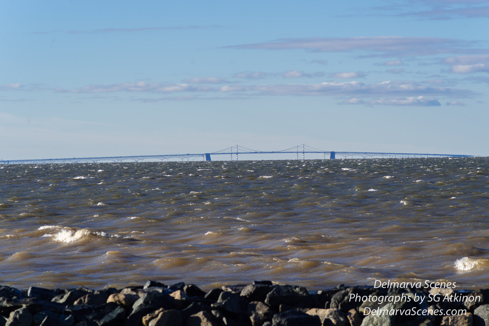 Photo by SG Atkinson: Rough Waters with a Clear View Ahead